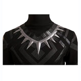Captain America 3 Black Panther T Challa hero cosplay costume