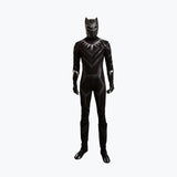 Captain America 3 Black Panther T Challa hero costume cosplay superhero jumpsuit