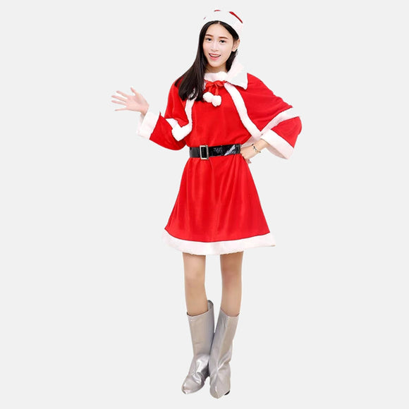 Christmas Party female cosplay costume