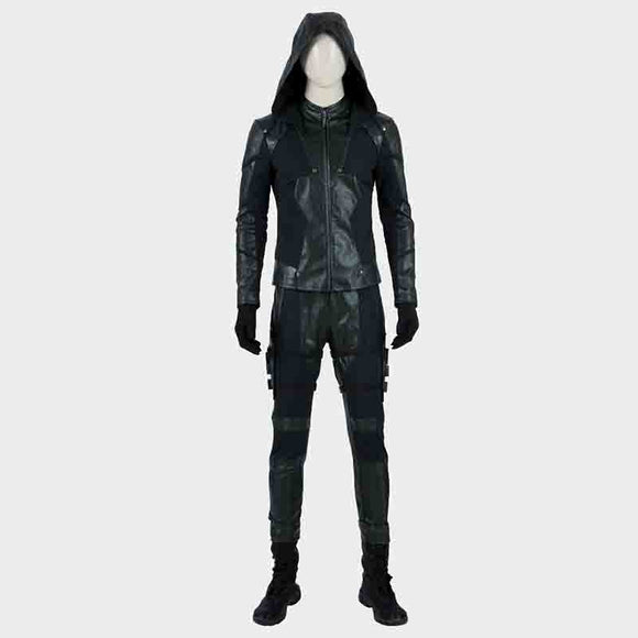 Green Arrow 8 Oliver Queen Cosplay Costume
