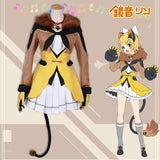 VOCALOID Kagamine Rin/len brother and sister Circus Cosplay costume