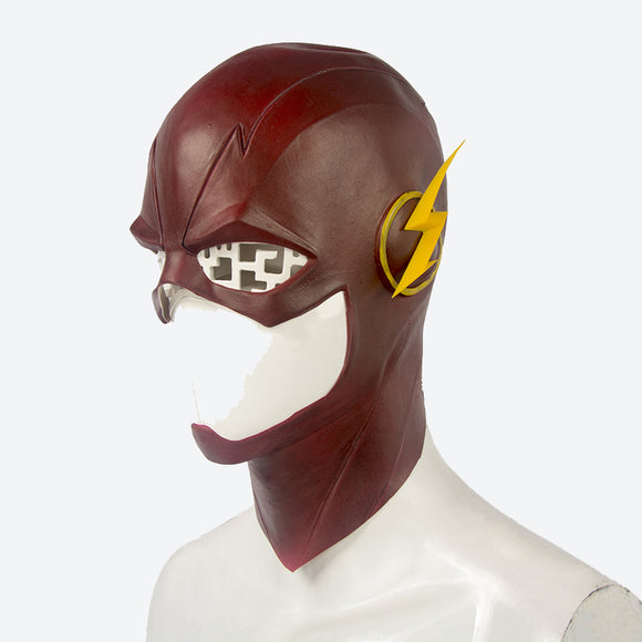 The Flash Barry Allen helmet