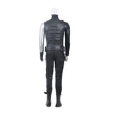 Captain America 2  Bucky Barnes winter soldier cosplay costume