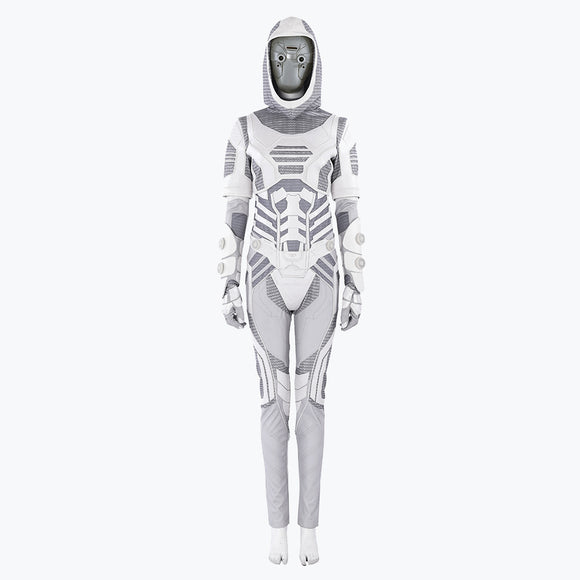 Antman and the Wasp Ghost suit cosplay costume Halloween jumpsuit