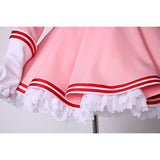 Card Captor - Sakura costume cosplay pink dress