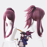 League of Legends KDA Akali cosplay wig