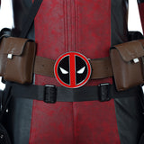 Deadpool X-Men cosplay costume jumpsuit
