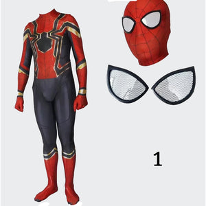 Avengers 3 Infinity War Spiderman Peter cosplay costume spider suit Halloween