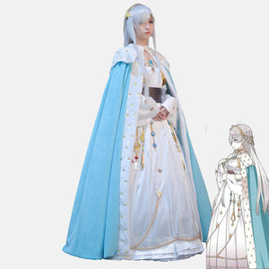 Fate Anastasia cosplay dress costume elegant beautiful cosplay dress Halloween Party Christmas party dress