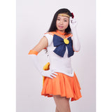 Sailor Moon Sailor Venus Minako Aino dress cosplay costume