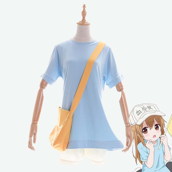 Cells at Work! Platelet cosplay costume Full outfit