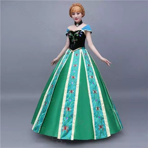 Buy high quality Frozen Anna Princess cosplay dress costume