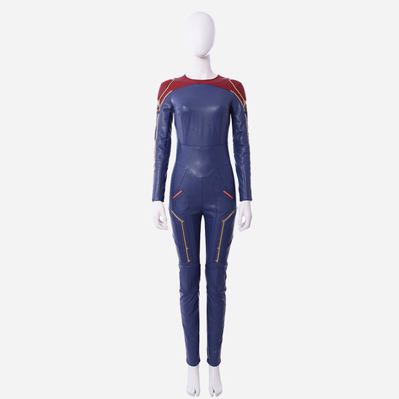 Captain Marvel Carol Danvers cosplay costume only jumpsuit