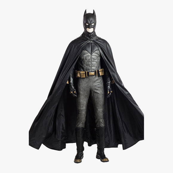 Batman Bruce cosplay costume Halloween men suit superhero jumpsuit