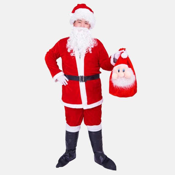 Christmas Party Santa Claus cosplay costume