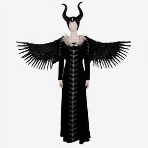 Maleficent 2 Angelina Jolie Witch dress cosplay costume