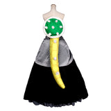 Super Mario Princess Bowsette costume cosplay dress