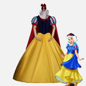 Snow White cosplay dress costume for Christmas party or Halloween party