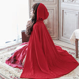 Red Riding Hood cosplay costume Halloween dress