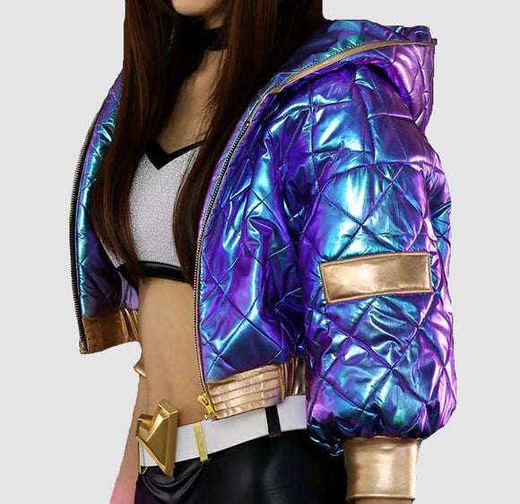 League of Legends KDA Akali cosplay jacket