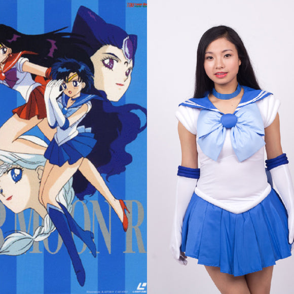 Sailor Moon Minuno Ami cosplay costume