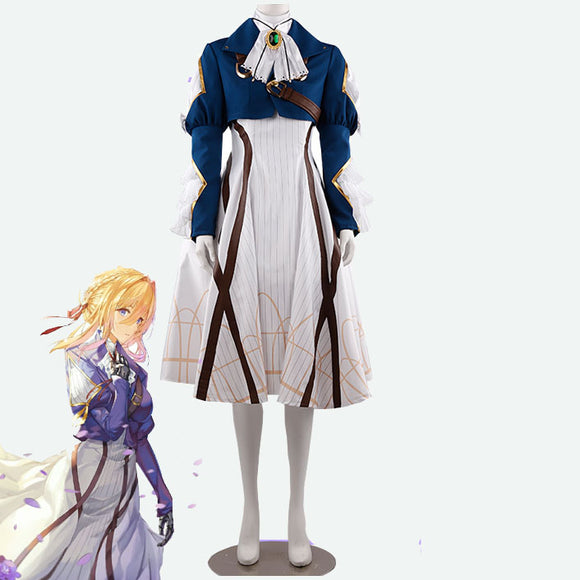 Violet Evergarden cosplay custom made costume