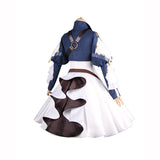 Violet Evergarden cosplay costume women dress beautiful white blue Halloween