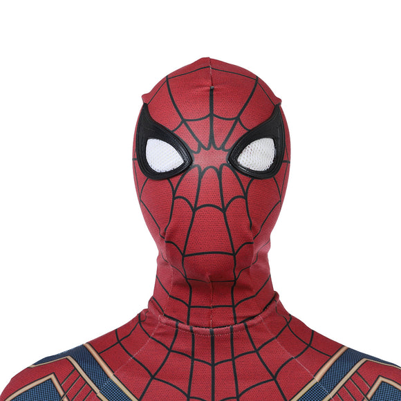 Avengers 3 Infinity War Spider Man Peter helmet cosplay accessory