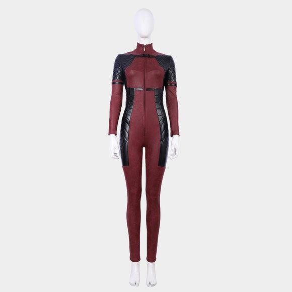 Xmen women Deadpoolcosplay jumpsuit