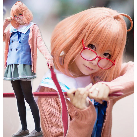 Beyond the Boundary Kuriyama Mirai outfit cosplay costume