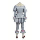 Stephen King's  IT Penny Wise clown costume cosplay outfit and mask