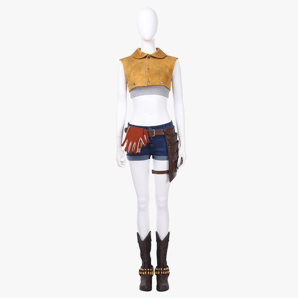 Devil May Cry Nico cosplay costume outfit women suit Halloween