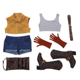 Devil May Cry 5 Nico cosplay costume full outfit/shorts
