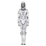 Ant-Man and the Wasp Ghost cosplay costume jumpsuit