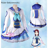 Lovelive Sunshine - Aqours costume cosplay dress 9 version