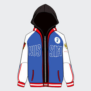Yuri on Ice Yuri Plisetsky cosplay male/female hoodie