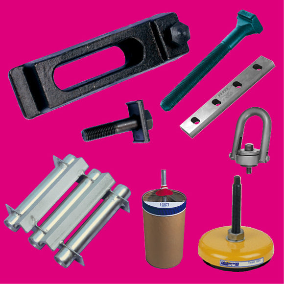 Mould Clamps, Mounts, Magnets, accessories
