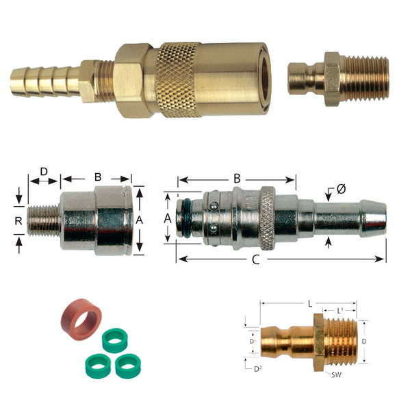 Mould Connectors and Plugs