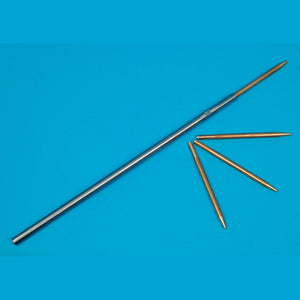 Brass Rod And Sprue Cleaner - Steel Rod With Brass Tips