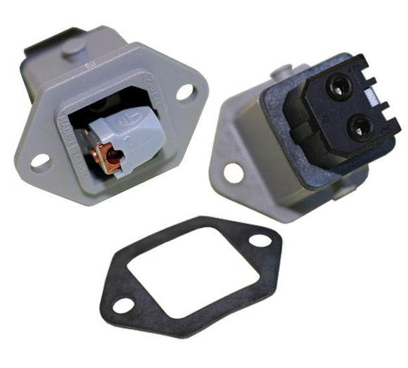 Electrical-plugs - Panel Mount Socket