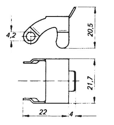 Electrical-plugs - Safety Bracket For Use With STAS-20 & STAK-20