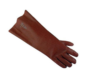 "Gloves - Gauntlet- 18"" PVC"