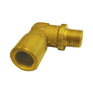 "Hose Fittings - 90deg Equal Elbow M/F 1/8"" BSP"
