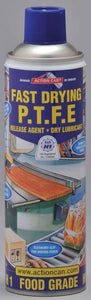 Mould_Sprays_and_lubricants - Food Grade P.T.F.E. Dry Film Lubricant/release