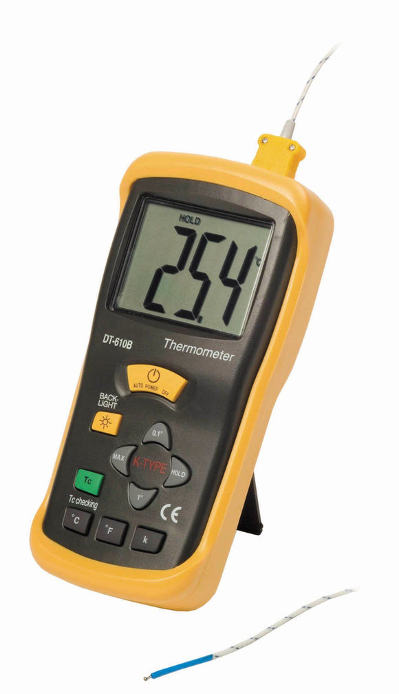 Pyrometer - Digital  Thermometer, K Type