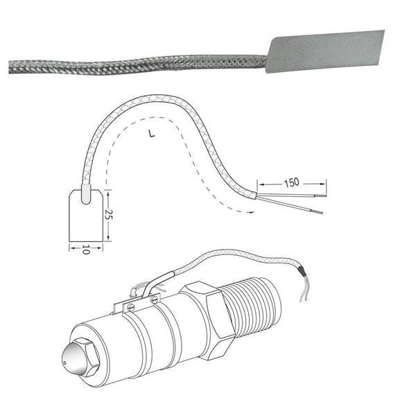 Standard Thermocouple - Leaf Type Thermocouple