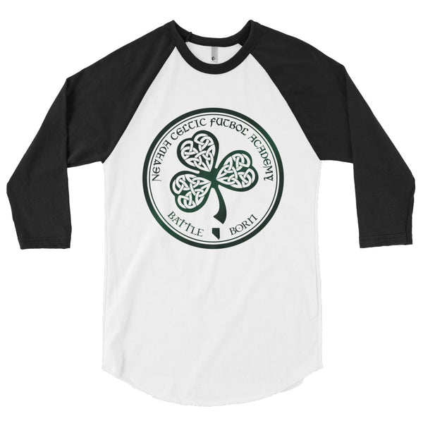 Celtic 3/4 sleeve raglan shirt