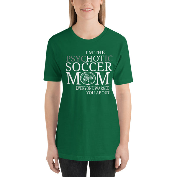Hot Soccer Mom Short-Sleeve Unisex T-Shirt