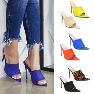 High Heel Slippers Pumps - Thj Fashion Boutique