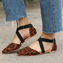 Load image into Gallery viewer, Women's Sandals Spring Summer Ladies Leopard print Shoes - Thj Fashion Boutique